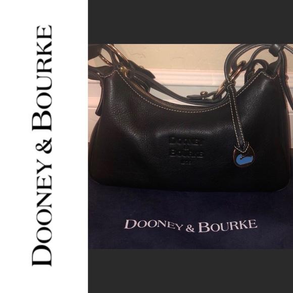 Dooney & Bourke Handbags - •{ DOONEY & BOURKE }• RARE LEATHER STAMPED BAG